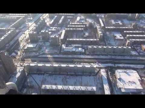 Летим над ул. Бухарестская