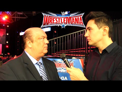 ChampChong vs Paul Heyman! (Full Interview - WWE WrestleMania)