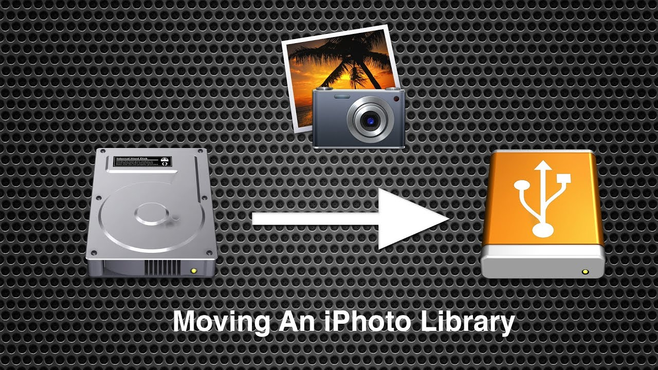 Move iPhoto Library On Mac OS X