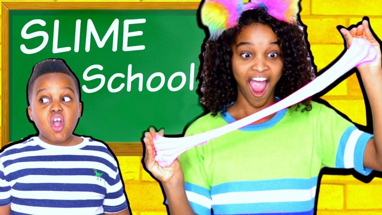 64084074 SLIME SCHOOL! - Onyx Kids - YouTube