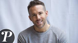 """Ryan Reynolds : """"J'espère que ma fille me voit comme un super-héros"""" Interview Purepeople"""