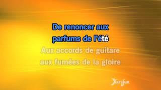 Karaoké Comme un soleil - Michel Fugain *