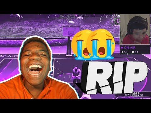 NBA 2K I MADE A KID CRY AND HIT HIMSELF LIVE ON STREAM😂😂 GEE SICE SON? HE ACTUALLY CRIED Girl Rage