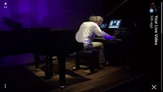 Live Improvisation Performance - iPads and Transacoustic Grand Piano by Stefan Gisler #iosartist