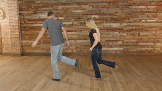 Fake ID Line Dance Tutorial -  From the movie Footloose starring Julianne Hough - Line Dance Lesson