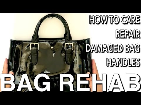 BAG REHAB FT. KATE SPADE - HOW TO REPAIR DAMAGED OR BROKEN BAG HANDLES