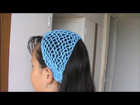 Cintillo Para el Cabello En Crochet - YouTube