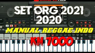 🔴SET REGGAE IND KN7000 MANUAL ➡ STYLE ORG 2021 & 2020