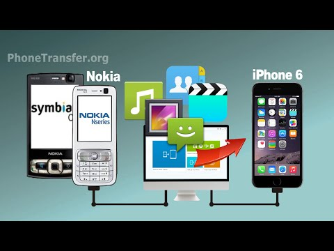 [Symbian to iPhone 6]: How to Transfer All Contacts, SMS, Media Files from Nokia to iPhone 6