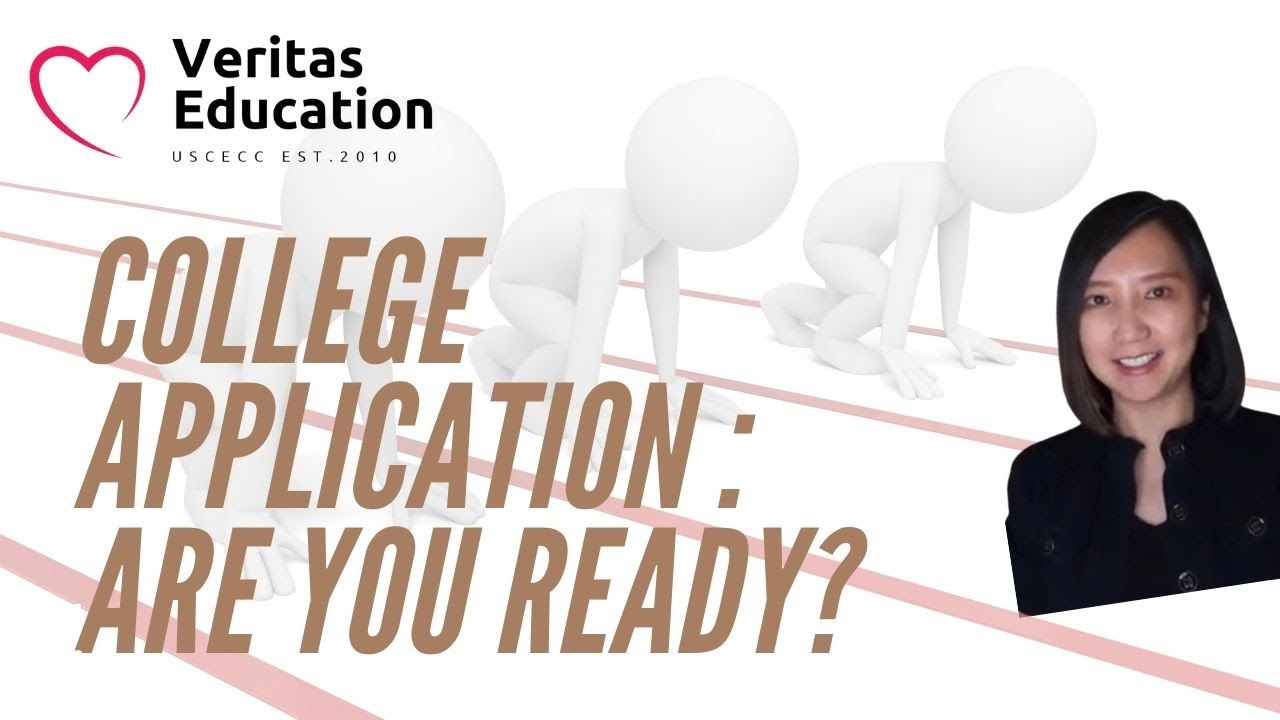 Dr. Wu talks about educational psychology: College Application Readiness. Are you ready?