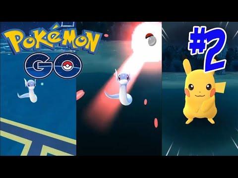 Pokemon Go #2 Gameplay ตามจับโปเกม่อน ! มินิริว ปิกาจู !