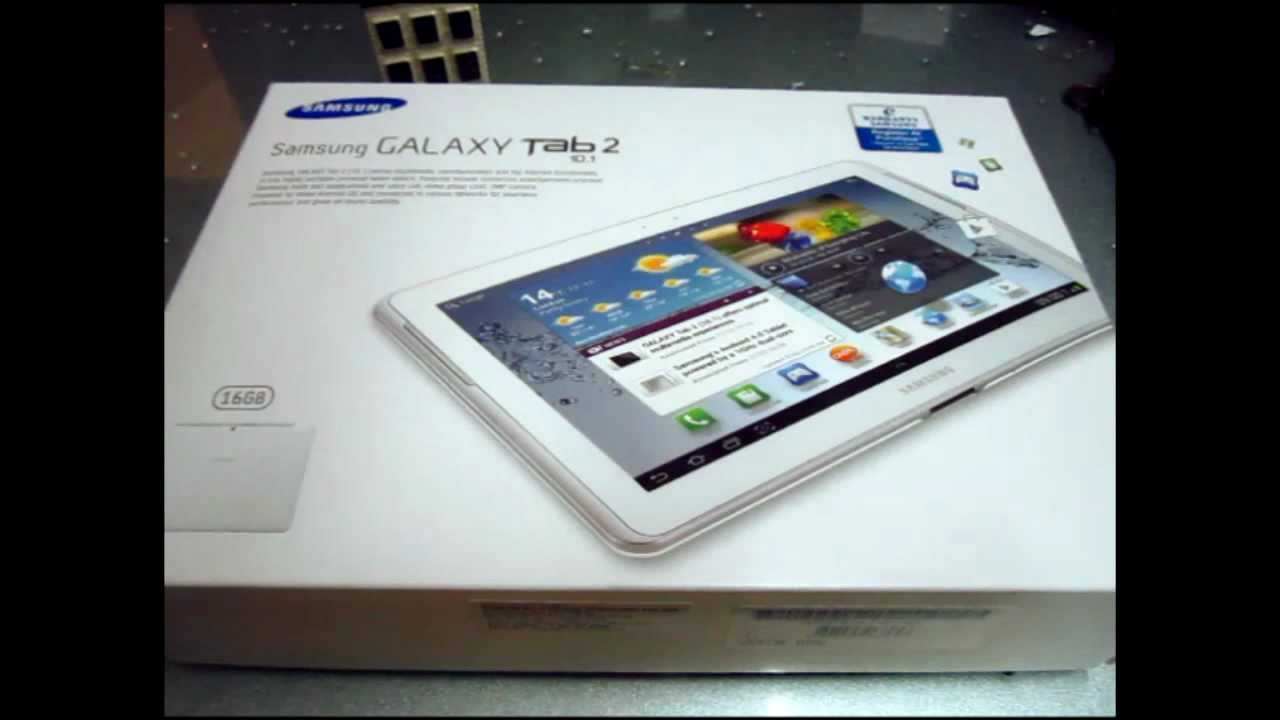 """Unboxing Samsung Galaxy Tab 2 ( 10.1"""" 3G + WiFi )"""