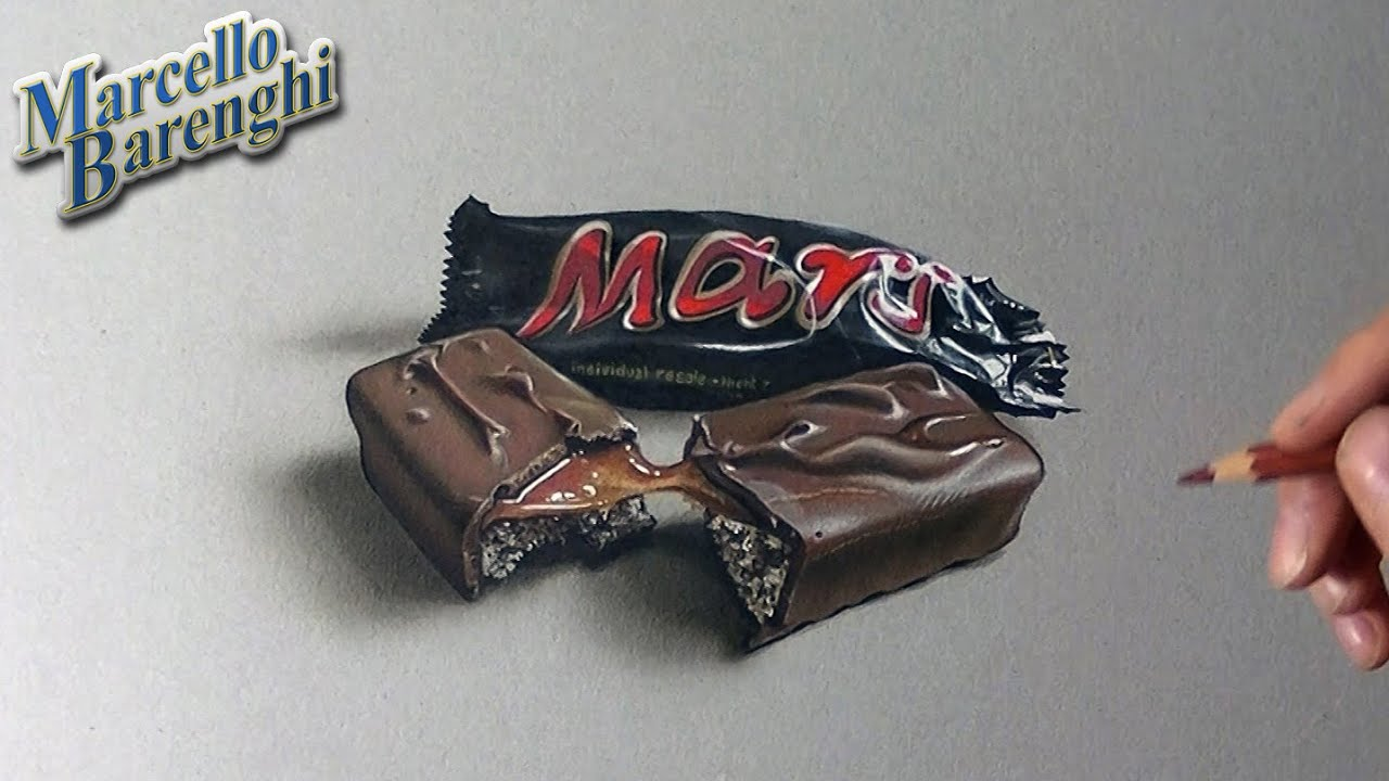 Uncategorized How To Draw Candy Bars mars chocolate bar yummy drawing youtube
