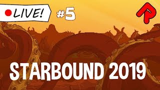 STARBOUND 2019 stream #5: Finishing the Winter Palace! | Live indie game stream