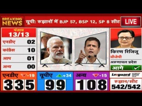 LIVE Loksabha Election Results 2019 - Mathura में Hema Malini ने लहराया परचम