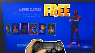 *NEW* How To Get EVERY SKIN in Fortnite FREE! (DIscord Invite Rewards!)