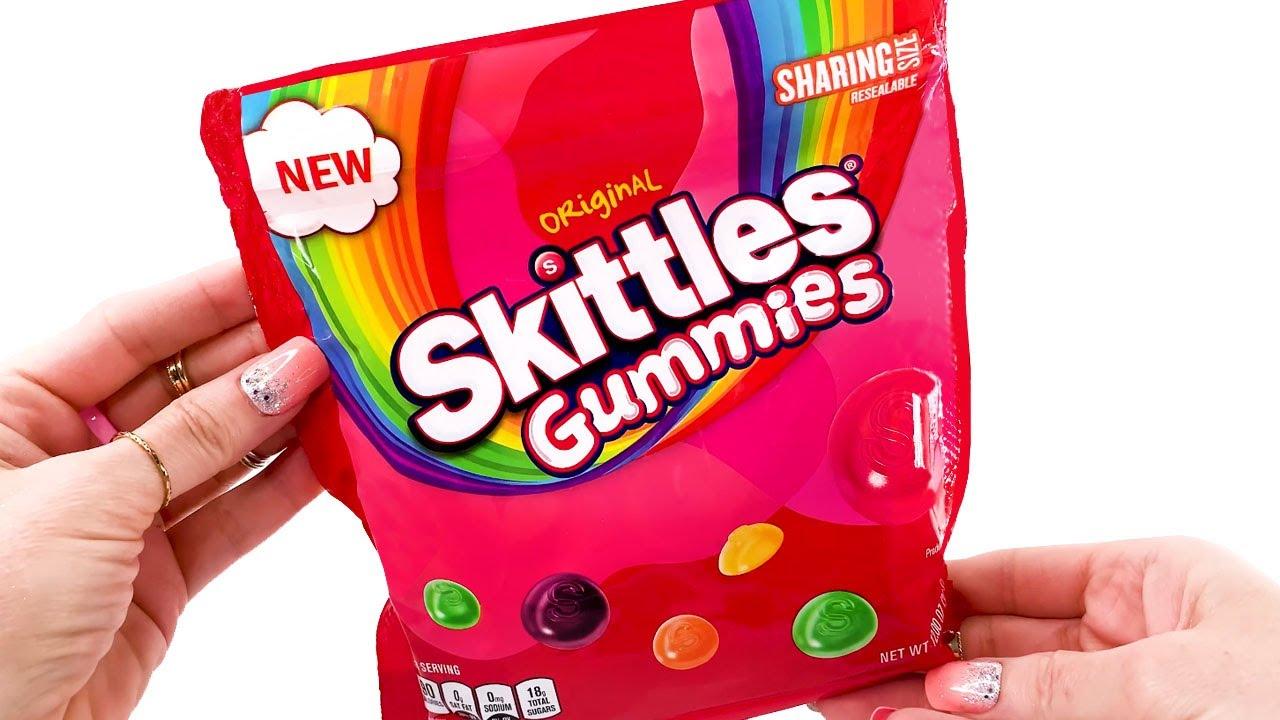 Skittles Gummies -  Unwrapping