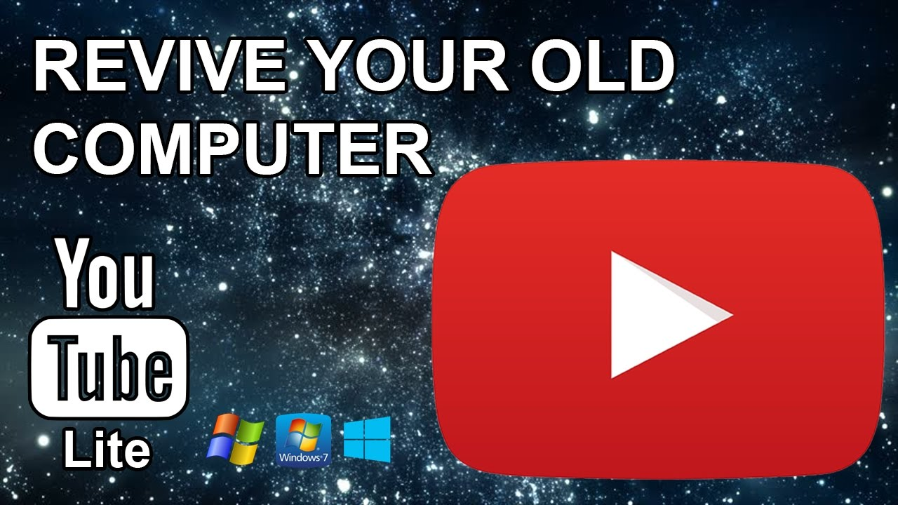 YouTube Lite - A standalone solution for old hardware! (Fix video lag)
