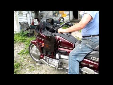 How Reverse Works On A Honda Goldwing Youtube