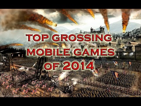 Top Grossing Mobile Games Of 2014