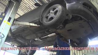 Удаление катализаторов на Audi A3. Удаление катализаторов на Audi A3 в СПБ.