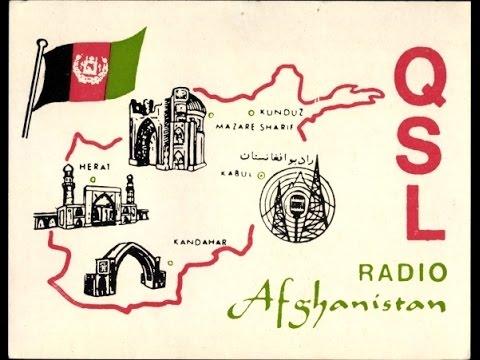 Radio Afghanistan - NA, IS, german ID, IS, english ID (historic)