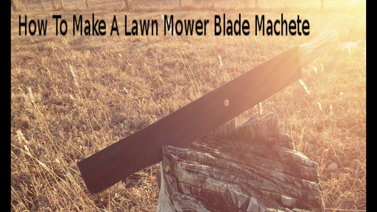 Fallout Lawn Mower Blade Machete - YouTube