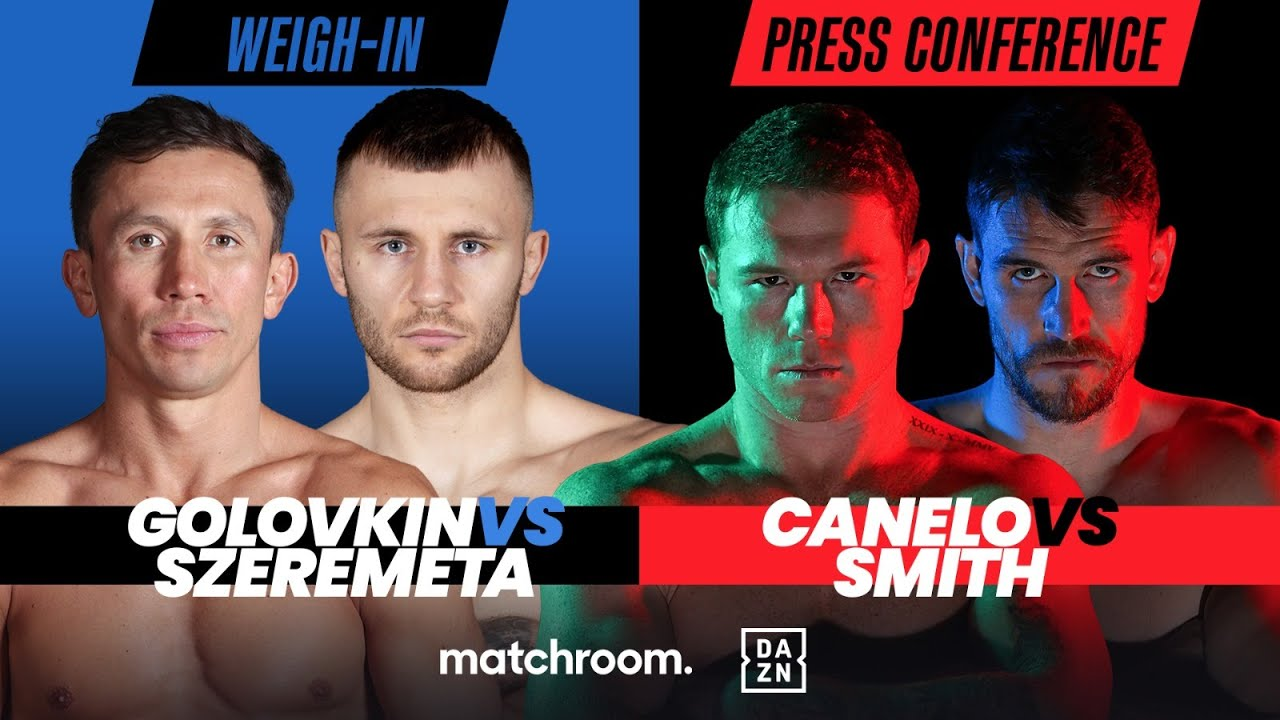 Canelo Smith Final Press Conference