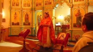 Пасха поздравление Сергия. Русское видео. Ютановка 2019
