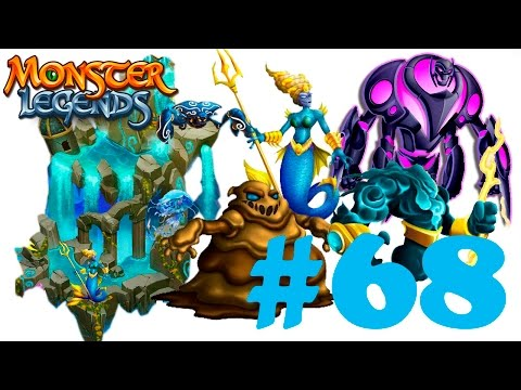 Monster Legends 68 - Stöirm Sludger Ultrabot Anaitis- Atlantis Island