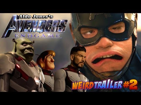 AVENGERS: ENDGAME Weird Trailer #2 | AVENGERS 4 PARODY by Aldo Jones