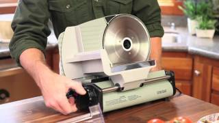 """Guide Gear 8.5"""" Electric Stainless Steel Food Slicer"""