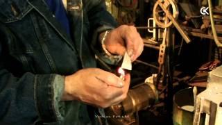 Сварка клинка из торсированного дамаска. Damascus steel blade(Полная, а не порезанная на три части, версия фильма