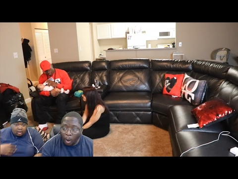 IT'S NOT YOUR BABY PRANK! REACTION!!!!!!! @D&B NATION