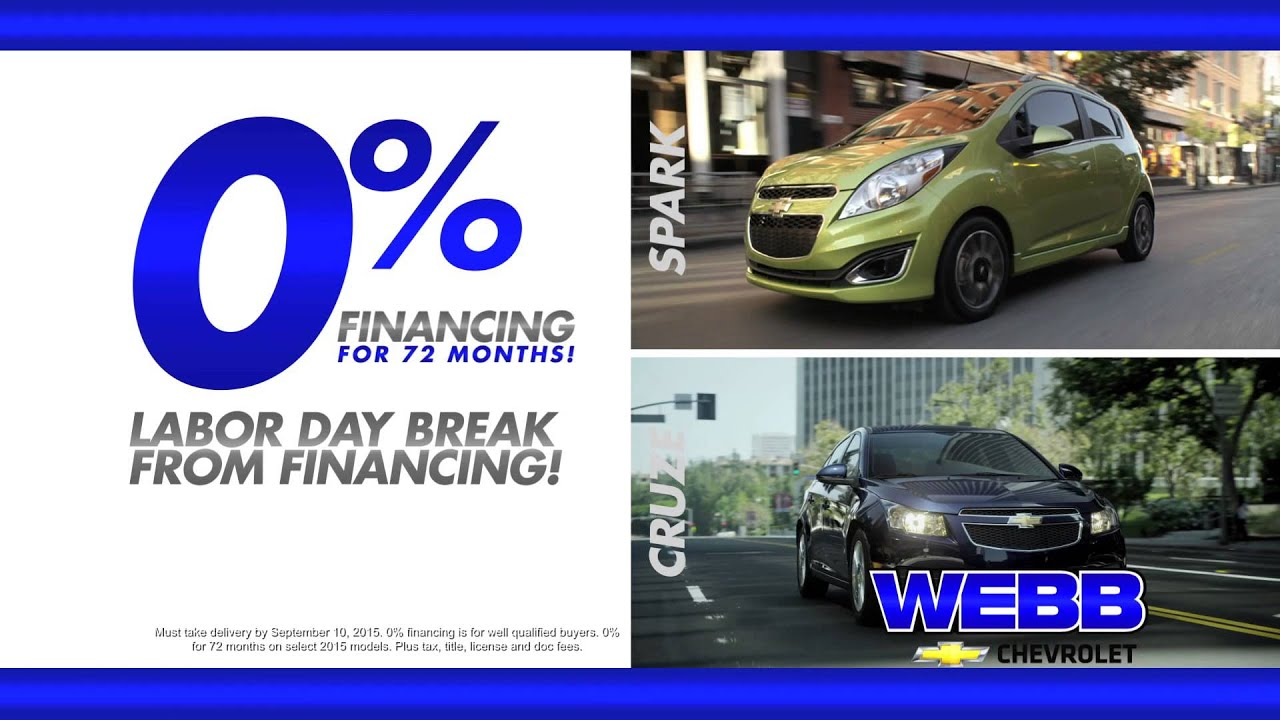 Webb Chevrolet of Plainfield - 0% Financing for 72 Months ...