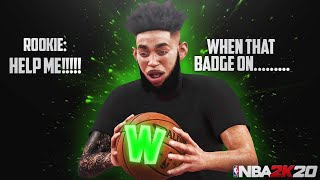99 OVR POOHGOTTIE HELP 60 OVR ROOKIE GET HIS FIRST PARK WIN IN NBA 2K20