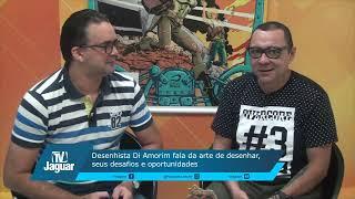 Desenhista Di Amorim fala da arte de desenhar, seus desafios e oportunidades
