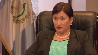 Thelma Aldana sin duda de la culpabilidad de Otto Pérez