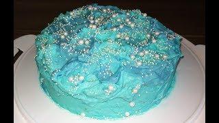 Meerjungfrau-Torte mit Zitronen-Sahne | Dr. Oetker