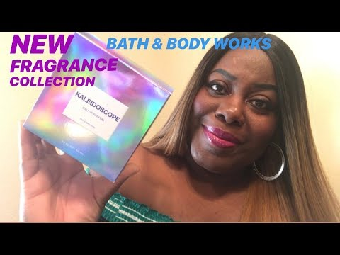 NEW!!! BATH & BODY WORKS KALEIDOSCOPE FRAGRANCE COLLECTION |  REVIEW