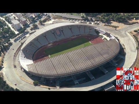 Hajduk Split - Poljud iz zraka - Full HD!