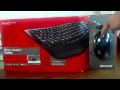 [Unboxing] Microsoft Wireless Comfort Desktop 5000