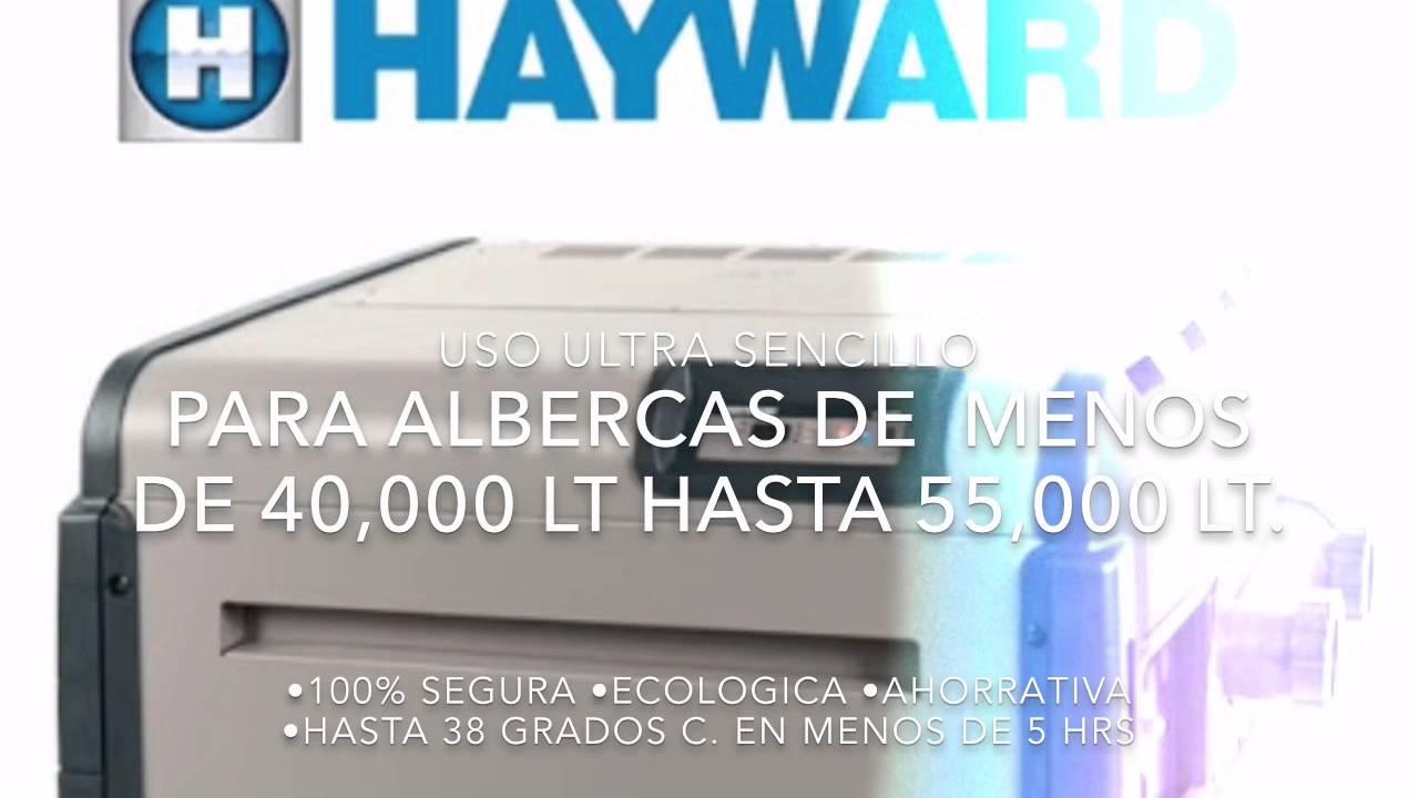 Calentador para alberca hayward 200 youtube for Caldera para alberca