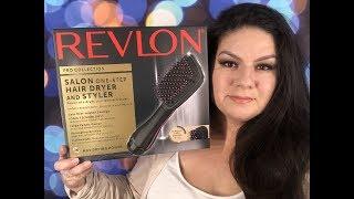 REVLON ONE STEP BRUSH HAIR DRYER TEST