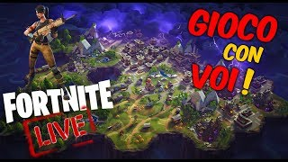 FORTNITE: Wanted Royal gagne! WEBCAM LIVE ITA