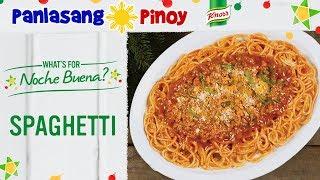 Easy Pinoy Spaghetti - Panlasang Pinoy