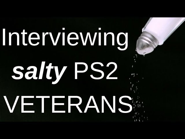Interviewing Salty Vets