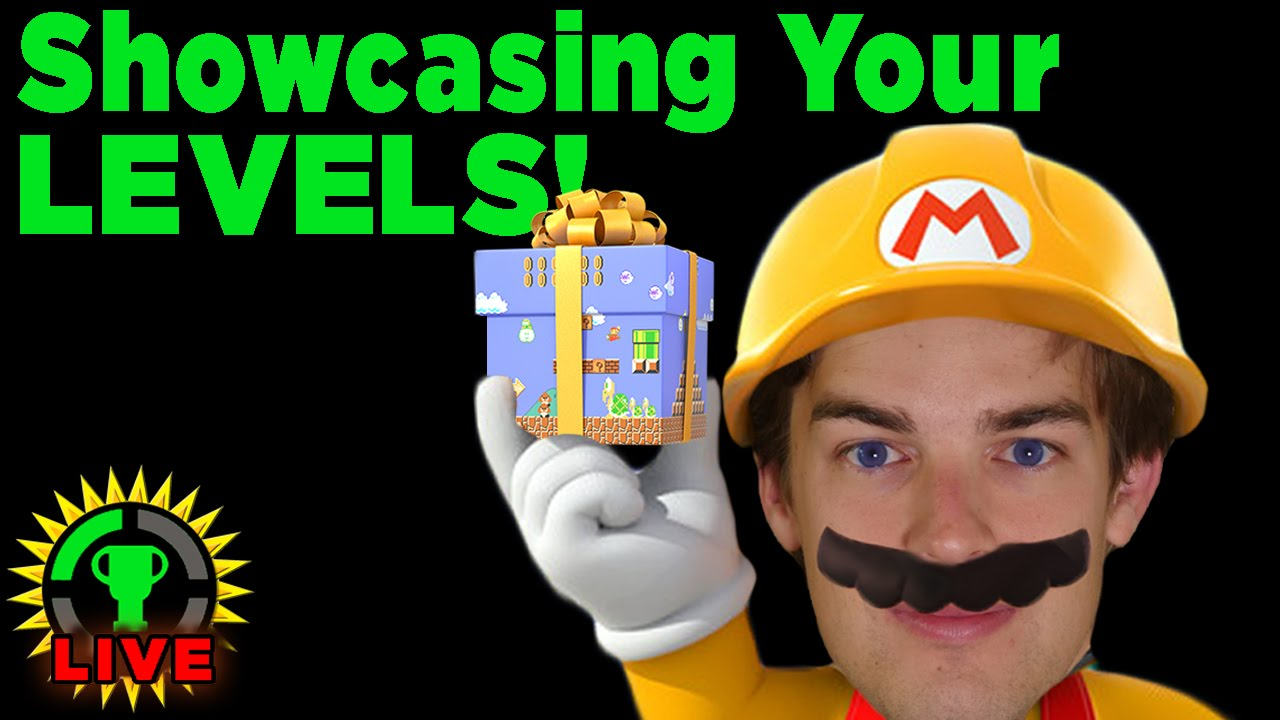 GT Live: Speed Running YOUR Mario Maker Levels - GT Live: Speed Running YOUR Mario Maker Levels