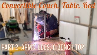 Convertible Couch, Table, Bed …