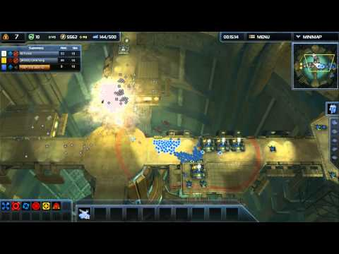 Supreme Commander 2 [3FFA] Supreme vs TheJack vs Mr.Funkii [Geothermal Borehole]